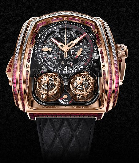 Jacob & Co. Grand Complication Masterpieces Twin Turbo TT800.40.BR.AA.A watch